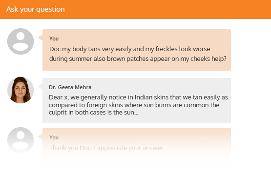 Dermatology Chat Section